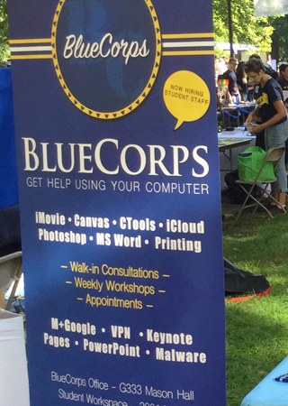 LSA BlueCorps Advisor