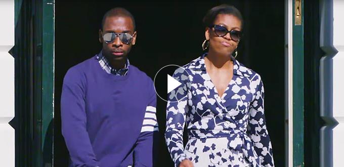 Michelle Obama College Rap
